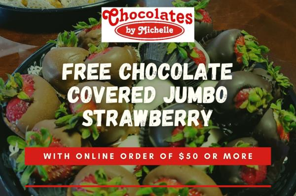 Chocolate Covered Jumbo Strawberry (ea)