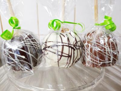 Caramel Chocolate Covered Apple (ea)